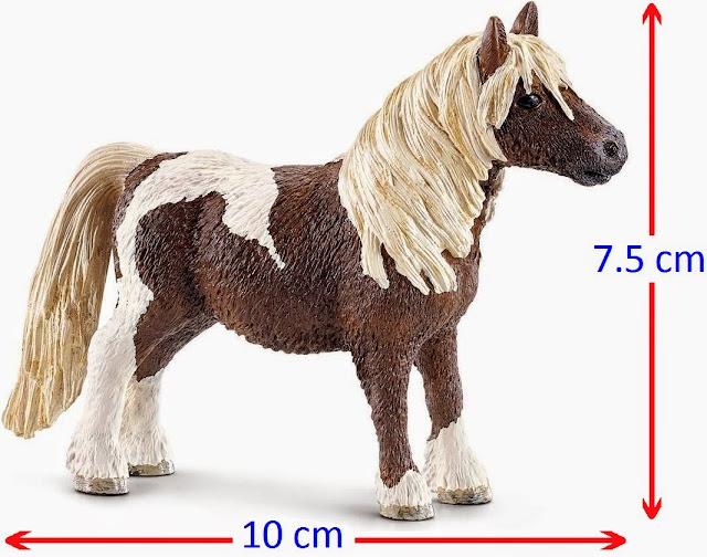 Đồ chơi Mô hình Ngựa đực Shetland Pony Gelding nhỏ xinh