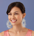 Circle earrings: http://marthastewart.lionbrand.com/patterns/L10431.html