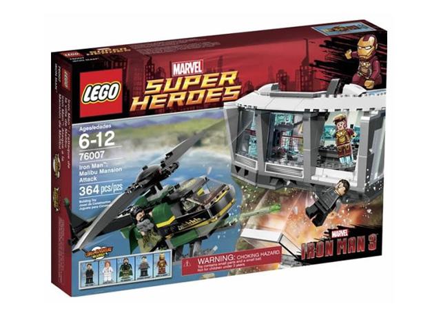 レゴ スーパーヒーローズ アイアンマン マリブのマンションアタック 76007