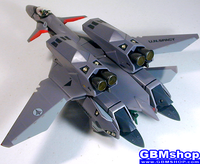 Macross Plus VF-11B with FAST Pack Super Part Super Thunderbolt Fighter Mode