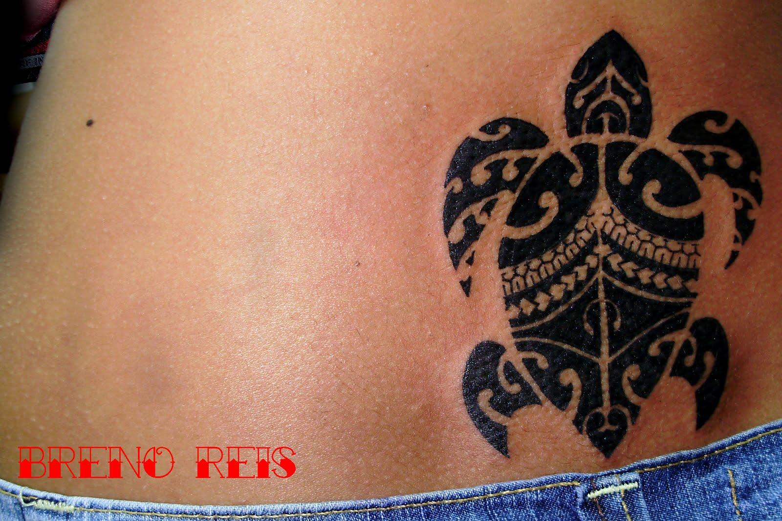 Maori tattoo turtle image 267507 on favim com - Tatuagens Maoris Treze Tatuagens