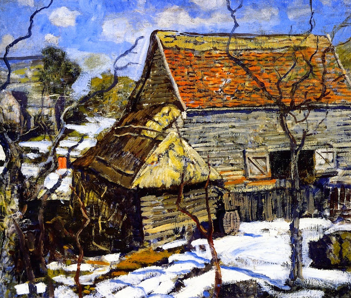 Walter Elmer Schofield - The Red Barn