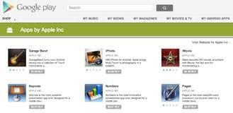 Aplicaciones fraudulentas de Apple se dejan ver en Google Play