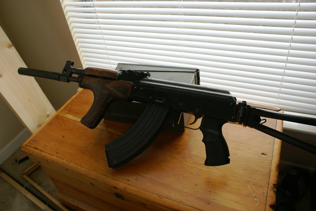 Almost finished Draco conversion... - AK & SKS Discussion