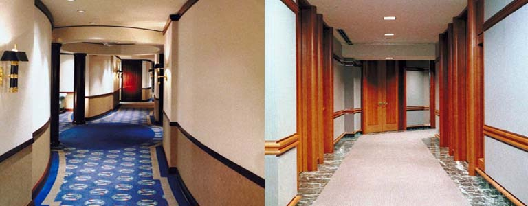 Reforma y obras de pasillos