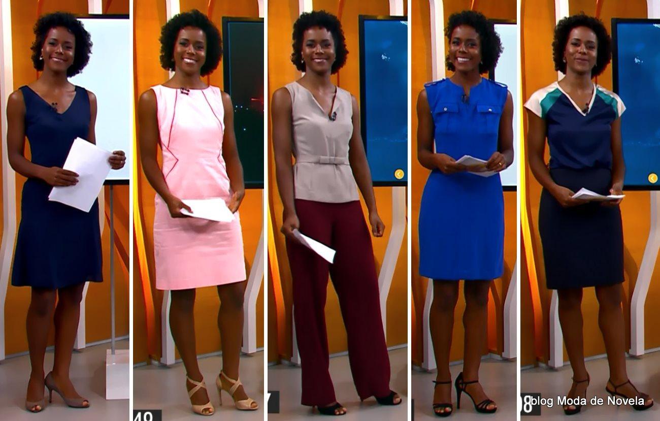 moda do programa Hora 1, looks da Maria Julia Coutinho dias 12 a 19 de janeiro de 2015