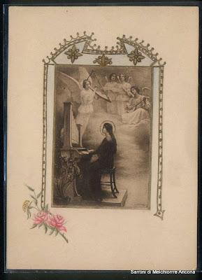 S cecilia strumenti musicali santini e immagini religiose for L organo portativo