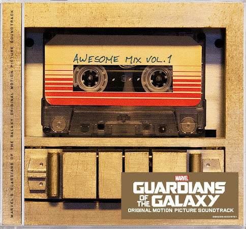Marvel Guardians of the Galaxy Awesome Mix Vol. 1 - Guardians of the Galaxy Soundtrack. A must-have for Marvel and Disney music fans.