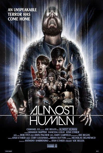 Poster Of English Movie Almost Human (2013) Free Download Full New Hollywood Movie Watch Online At alldownloads4u.com