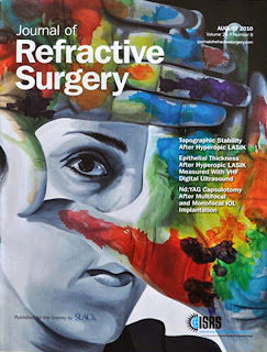 Fernando Jimenez,portada de The journal of refractive surgery