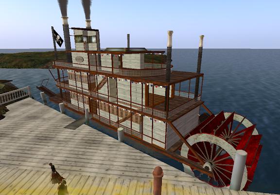 "Riverboat ""Mark Twain"""