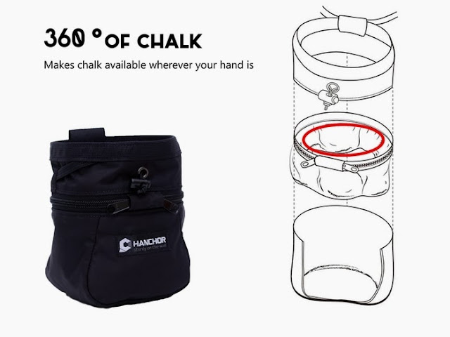 revolutionary chalk bag