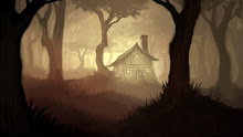 fantasy trees forest fantasy art the hill digital art house 1366x768 wallpaper