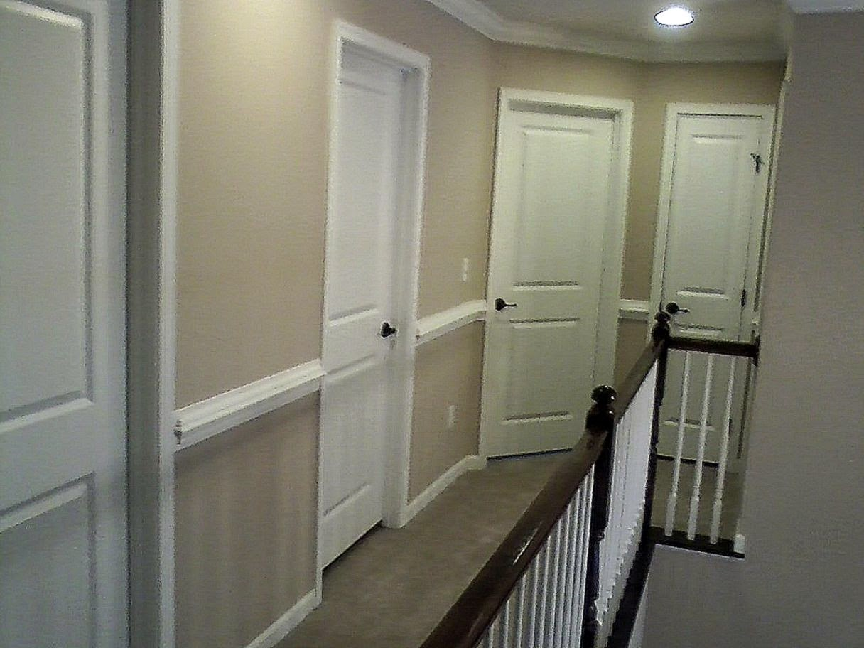 Chair Rail Hallway Part - 26: And Our Dream Here We Go