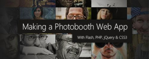Photobooth with PHP, jQuery and CSS3