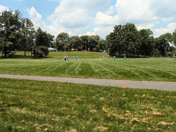 Cricket Back In West Side Park Newark Usa