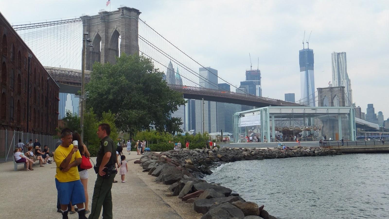 Jane´s Carrousel, J. Nouvel, Brooklyn Bridge, New York, Elisa N, Blog de Viajes, Lifestyle, Travel