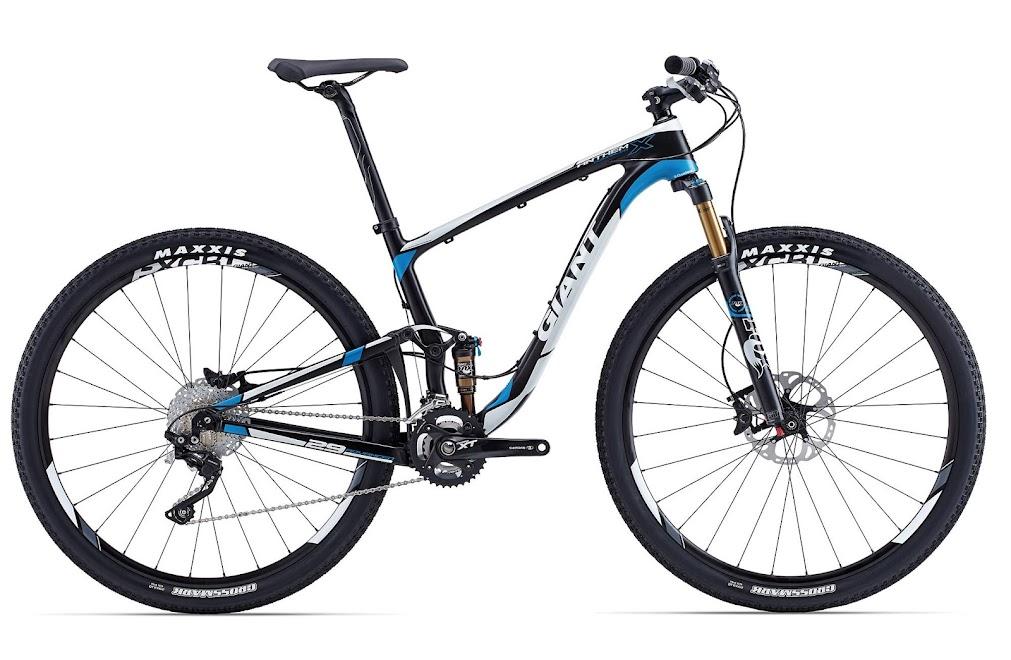 Xe dap the thao dia hinh Giant Anthem X Advanced 29er, xe dap the thao, xe dap trinx, xe đạp thể thao chính hãng, xe dap asama, Anthem X Advanced 29er Comp Blue
