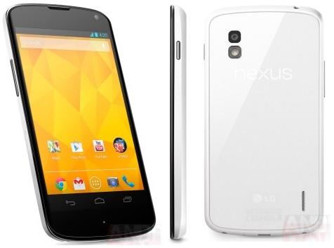 LG Nexus 4 weiß