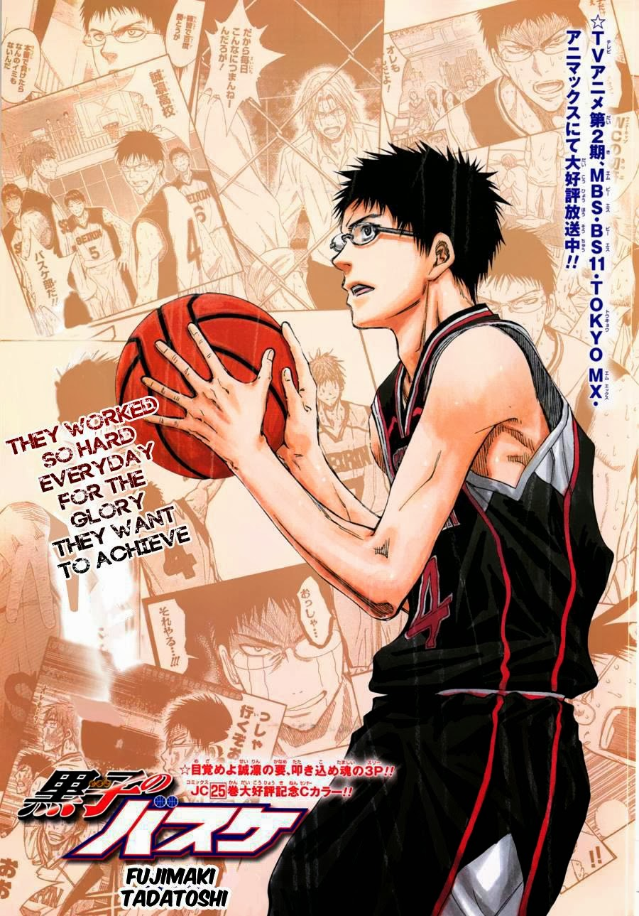 Kuroko no Basket Manga Chapter 241 - Image 03