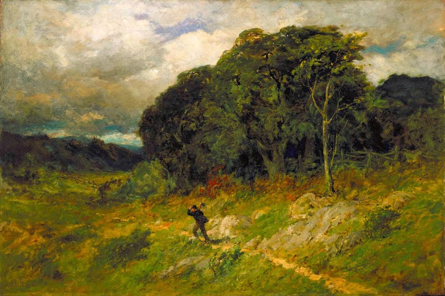 Edward Mitchell Bannister - Approaching Storm