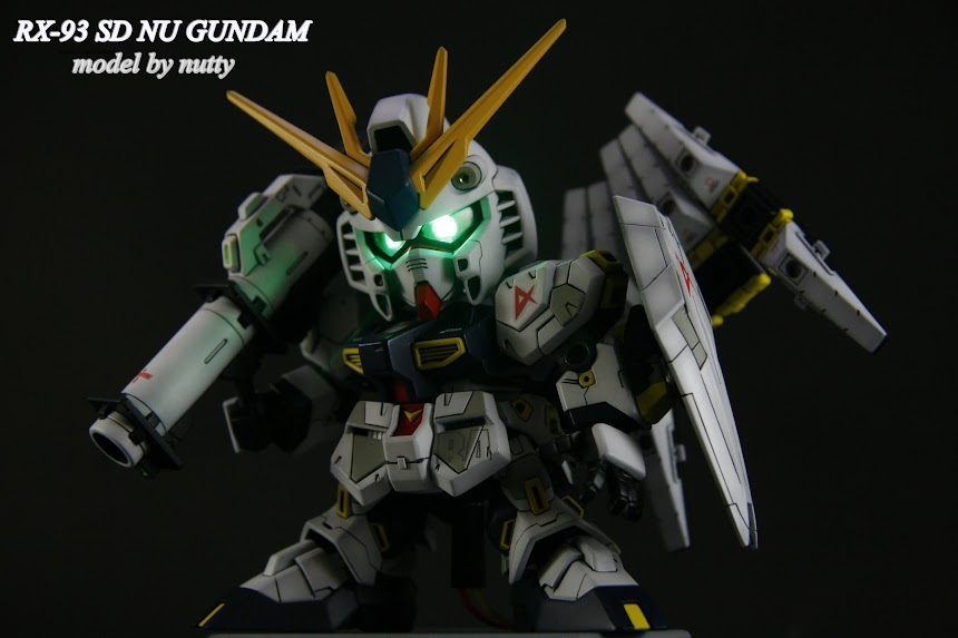 SD RX-93 NU GUNDAM โดย nuttybigbrain