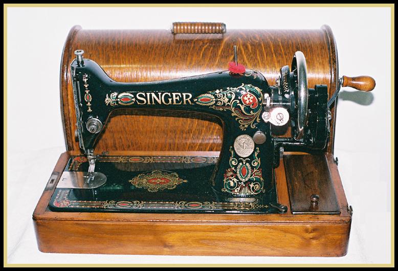 Model 66 Singer Restoration Decals