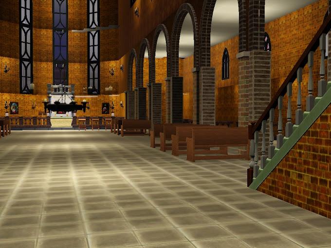 gothic kirche church kerk kościół sims3