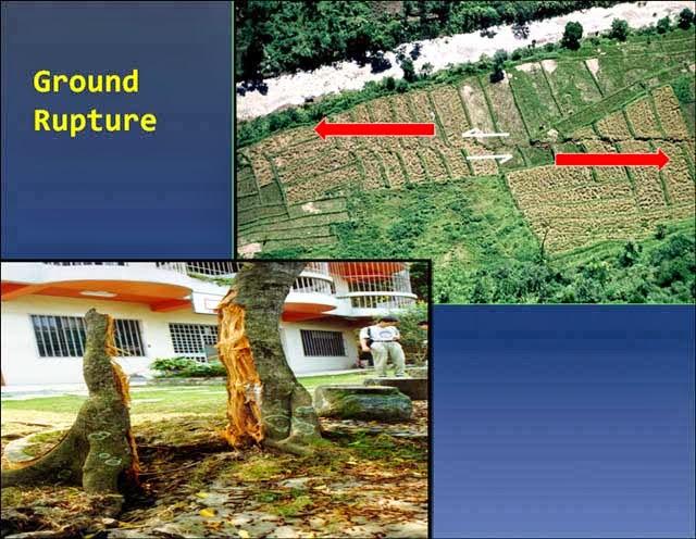 9 - ground rupture