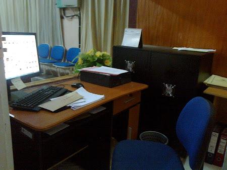 Meja Saya di kantor