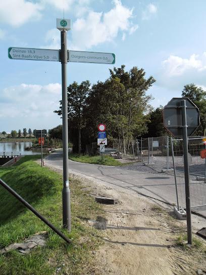 Canal Roulers-Lys (kanaal Roeselare-Leie -  Roeselaarse Vaart) fietssnelweg  F36 Ooigem%2B020