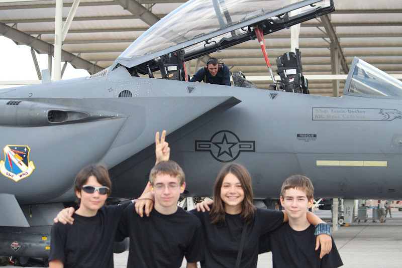 Teens at AFB