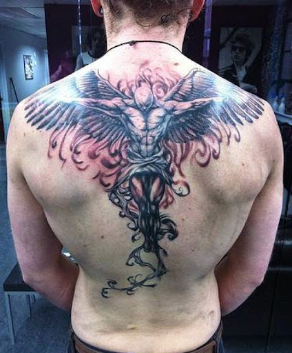 b3de3a08d 55 Most Amazing Angel Tattoos And Designs