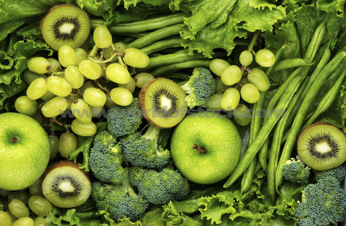 green fruits & veggies