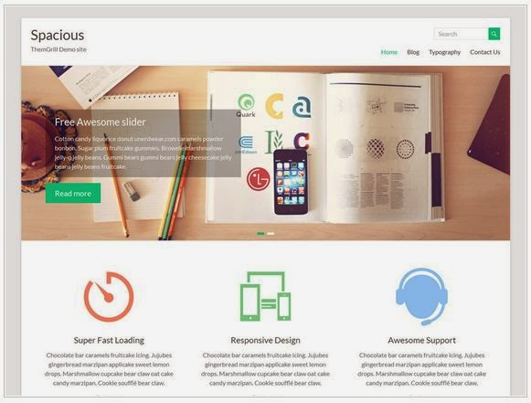 20 Plantillas WordPress Responsive gratis 2015