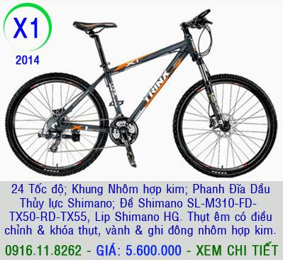 XE ĐẠP THỂ THAO, xe dap the thao, xe dap trinx, xe đạp thể thao chính hãng, xe dap asama,  x1 2014