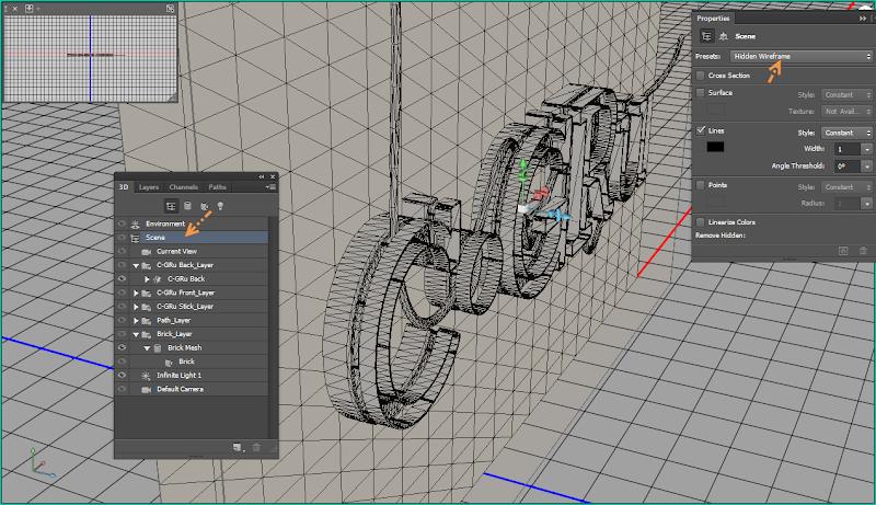 Photoshop - เทคนิคการสร้างตัวอักษร 3D Glowing แบบเนียนๆ ด้วย Photoshop 3dglow29