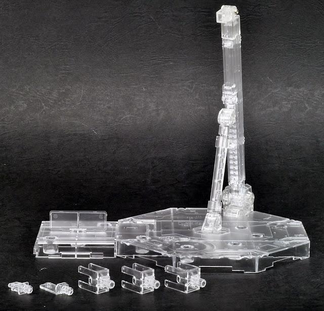 Sản phẩmChân đế dựng mô hình Gundam Action Base 1 Clear nhựa trong suốt