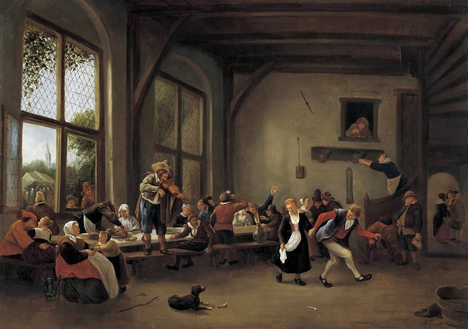 Jan Steen - Country wedding