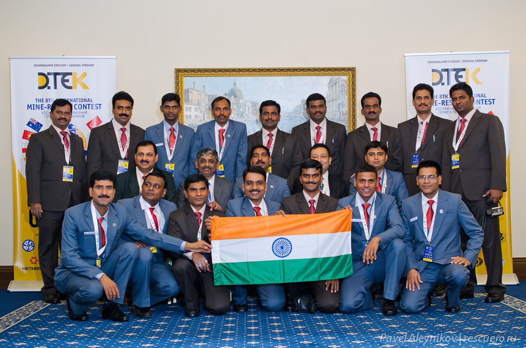 Горноспасатели из Индии