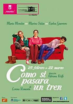 'Como si pasara un tren' de Lorena Romanín, en el Teatro Español