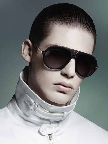Baptiste Radufe @ Success/Request by David Sims for YSL S/S 2012.