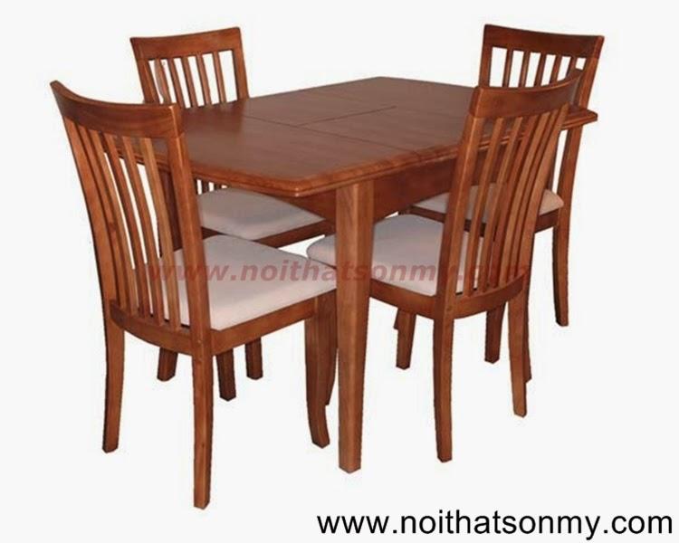 Bộ bàn ăn 4 ghế 03