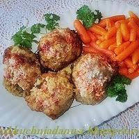 udka drobiowe z serem i suszonymi pomidorami