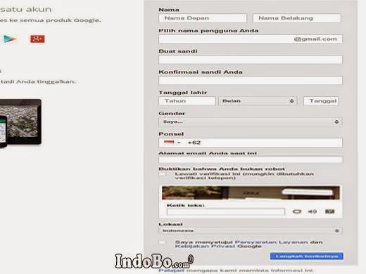 Tutorial Gmail - Cara Mendaftar Email Google Gratis