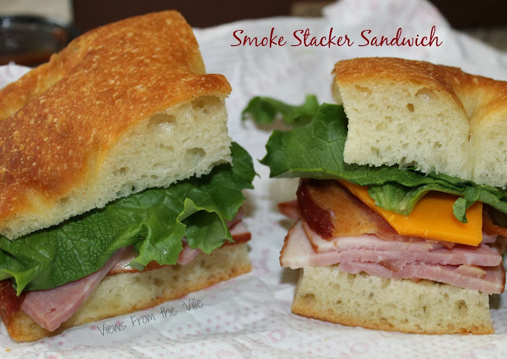 HoneyBaked Ham Catering: Smoke Stacker Sandwich Boxed Lunch #HoneyBakedGameDay