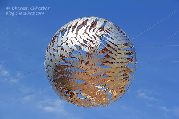 Silver Fern Ball at Civic Square, Welllington, New Zealand