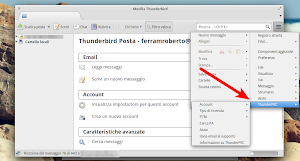 ThunderPEC in Mozilla Thunderbird