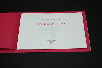 Modelo artístico de tipografía y diseño editorial, Francisco Martínez Vela, Ancile