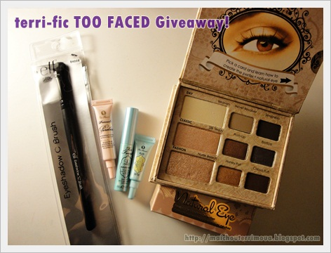 Concurso too faced!